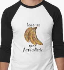 Bananas gone Aztecalistic Men's Baseball ¾ T-Shirt