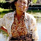 Balinese Lady by Carol  Lewsley