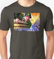 North Korean Propaganda - Big Shells Unisex T-Shirt