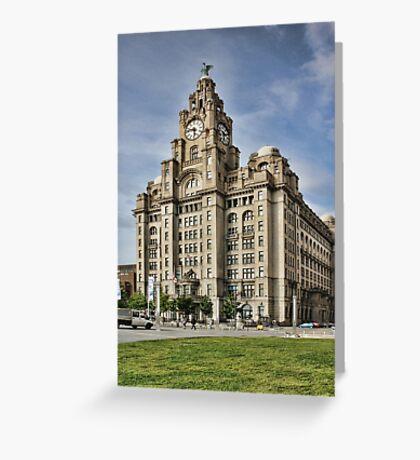 Royal LiverBuilding, Liverpool Greeting Card