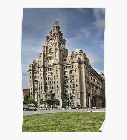Royal LiverBuilding, Liverpool Poster