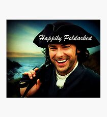 Ross Poldark in Cornwall Photographic Print