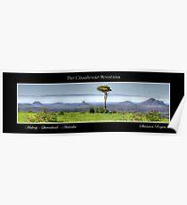 The Glasshouse Mountains Poster