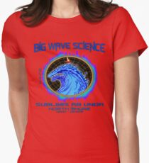 North Shore Big Wave Science Womens Fitted T-Shirt