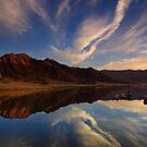 Boulder Gulch at Lake Isabella by David Orias