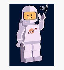 Space Astronaut Photographic Print