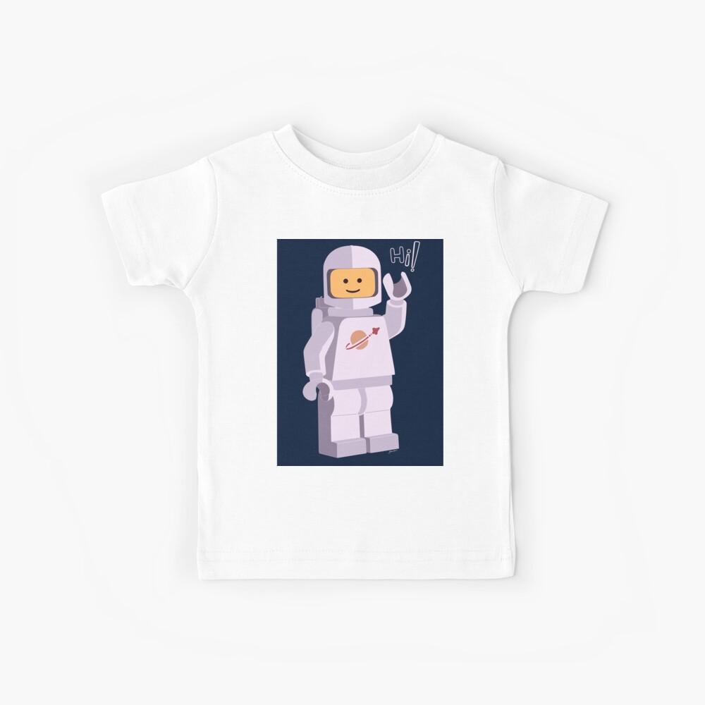 Astronauta Espacial Camiseta para niños