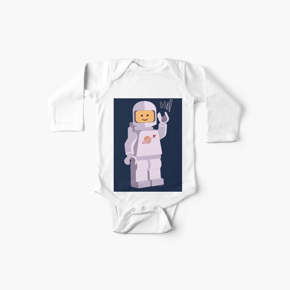 Astronauta Espacial Bodies para bebé