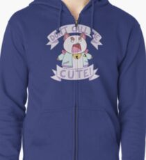 Puppycat - Don't Call Me Cute!  Zipped Hoodie