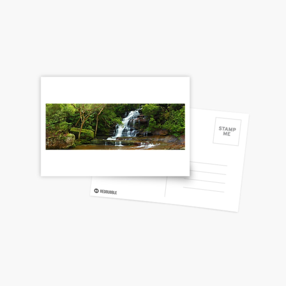 Upper Somersby Falls, New South Wales, Australia Postcard
