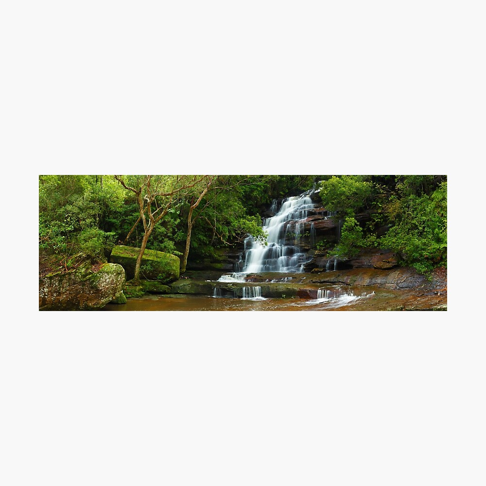 Upper Somersby Falls, New South Wales, Australia Photographic Print