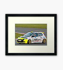 Alex Osbourne Renault Clio Framed Print