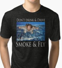 Smoke and Fly Tri-blend T-Shirt