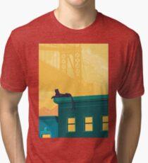 Urban jaguar Tri-blend T-Shirt