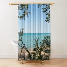 Beach, Lake House, Great Lakes Shower Curtain