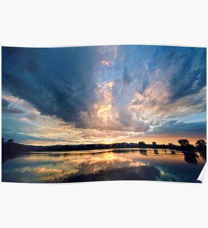 Sunset Slides In Poster