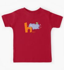 h for hippo Kids Tee