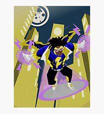 Detective Comics Presents: Superhero Static Shock! Photographic Print
