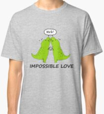 Impossible Love- T-rex edition  Classic T-Shirt