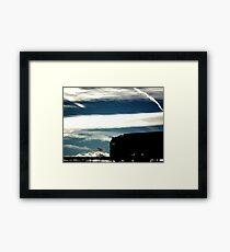 Sky Drive........... Framed Print