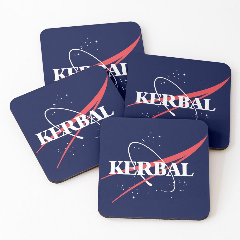 Kerbal Space Program Hoodie Coasters (Set of 4)