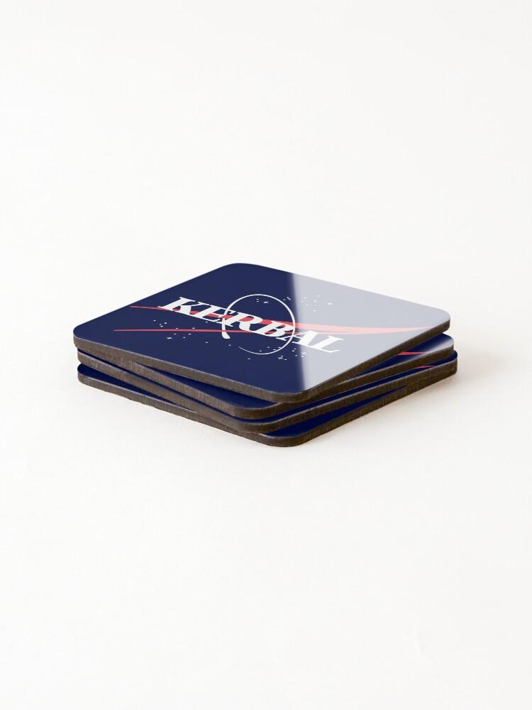 Alternate view of Kerbal Space Program Hoodie Coasters (Set of 4)