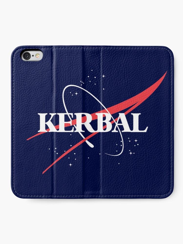 Alternate view of Kerbal Space Program Hoodie iPhone Wallet