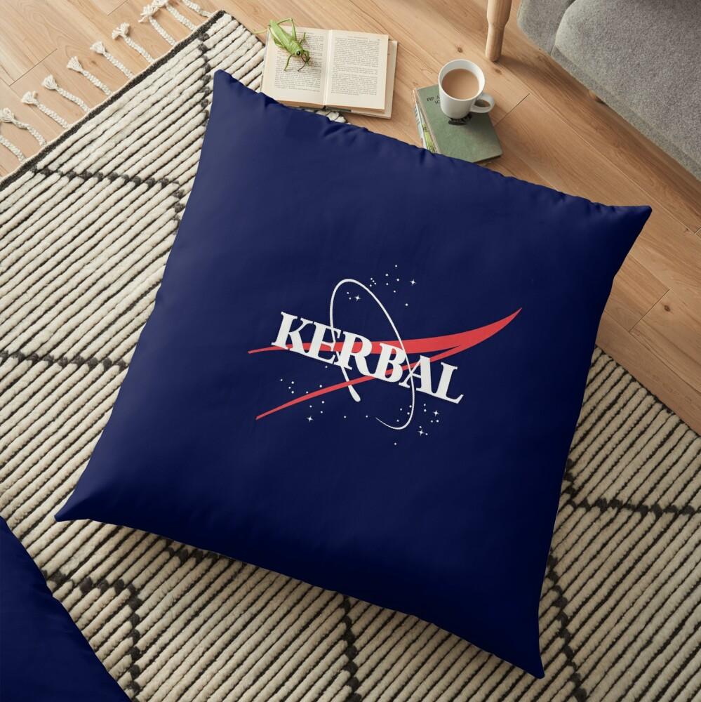 Kerbal Space Program Hoodie Floor Pillow