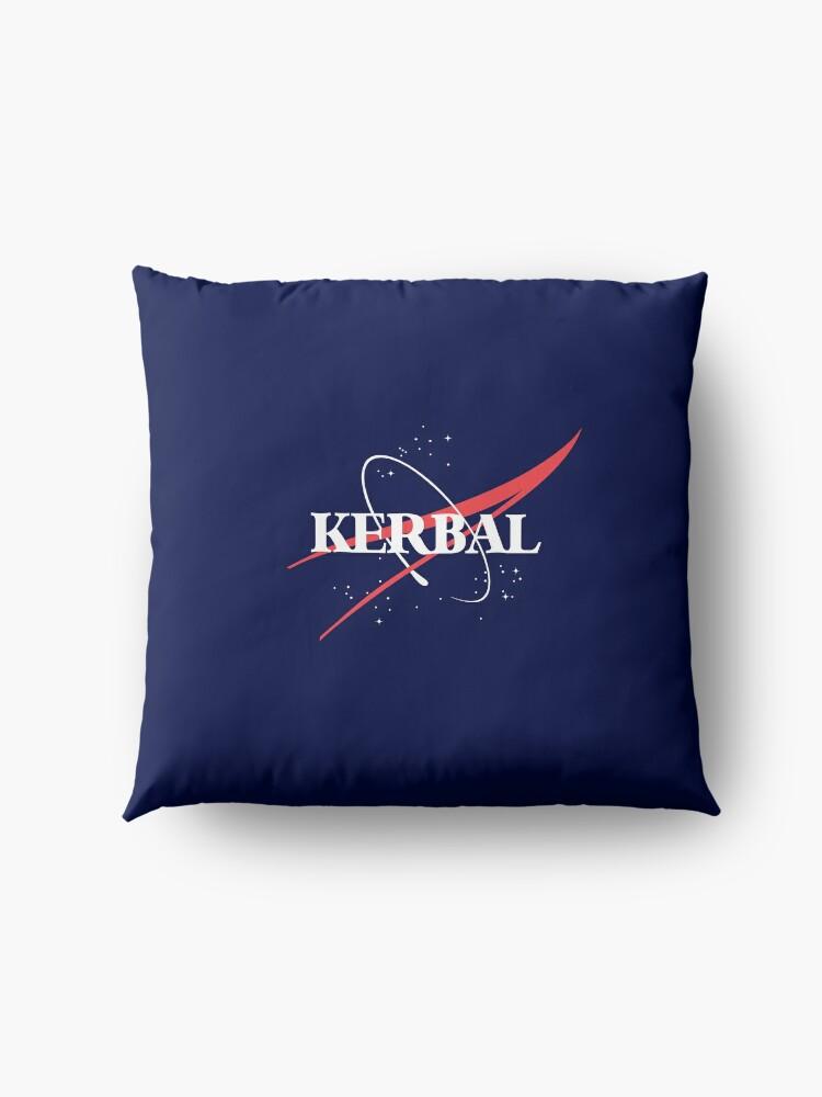 Alternate view of Kerbal Space Program Hoodie Floor Pillow