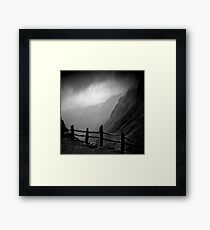 Top of Honister Pass Framed Print