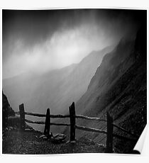 Top of Honister Pass Poster