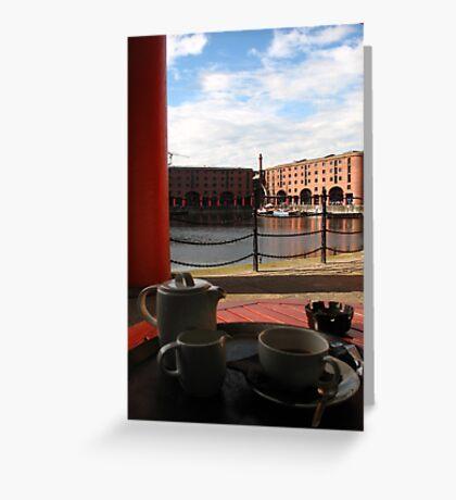 Royal Cuppa Greeting Card