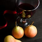 Red Wine and Pears by SpicieFoodie