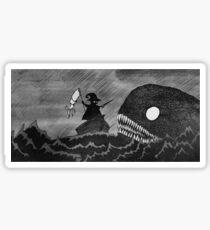 Tailor vs Sea Monster Sticker
