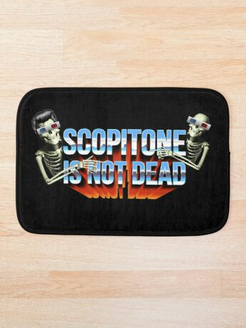 SCOPITONE IS NOT DEAD Tapis de bain