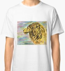 Lion Portrait 4 Classic T-Shirt
