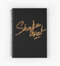 Shake it Out Spiral Notebook