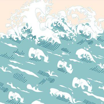 Wellen von MartaOlgaKlara