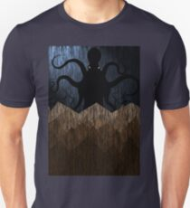 Cthulhu's mountains of madness - blue T-Shirt