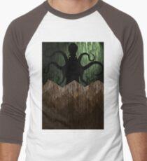 Cthulhu's mountains of madness - green Men's Baseball ¾ T-Shirt