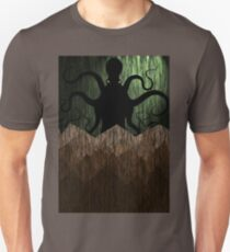 Cthulhu's mountains of madness - green T-Shirt