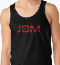 JDM Japanese Domestic Market (dark background) Tank Top