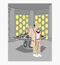 The Fifth Doctor Photographic Print
