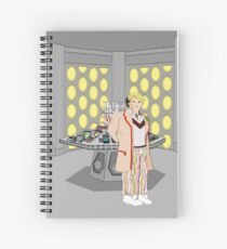 The Fifth Doctor Spiral Notebook