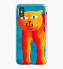 Curved Cats iPhone Case
