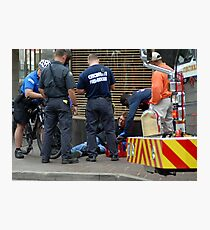 Injured in the City Photographic Print