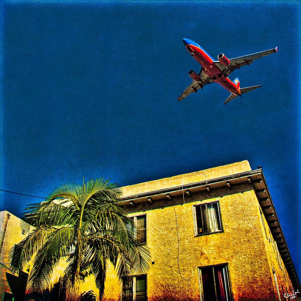 San Diego, Flight Path #1 by Chris Lord