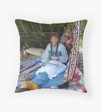 Rosalee Lane, Creek Potter, Panama City, FL Throw Pillow