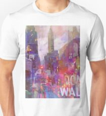 Snowstorm on the city T-Shirt