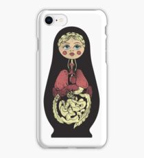 Russian doll iPhone Case/Skin